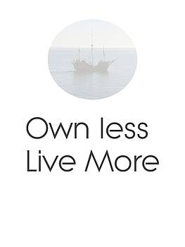 Own Less Live More by Andre Pillay