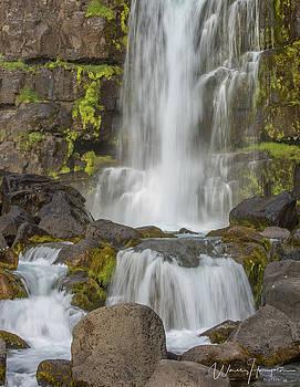 Oxararfoss, Iceland - 3810,S by Wally Hampton