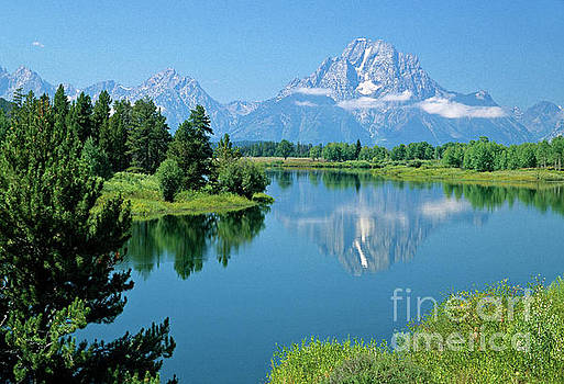 Oxbow Bend, Grand Teton National Park, Wyoming by Kevin Shields
