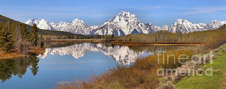 Adam Jewell - Oxbow Bend Spring Colors Panorama