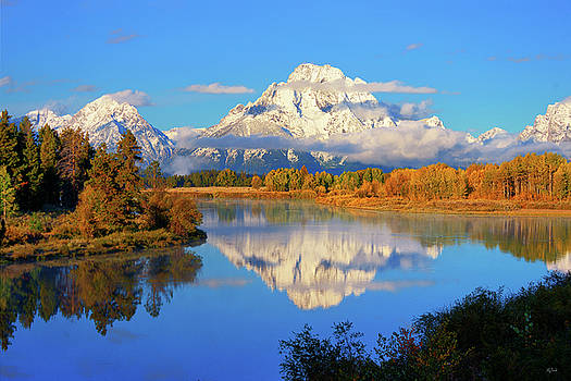 Oxbow Morning Reflections by Greg Norrell