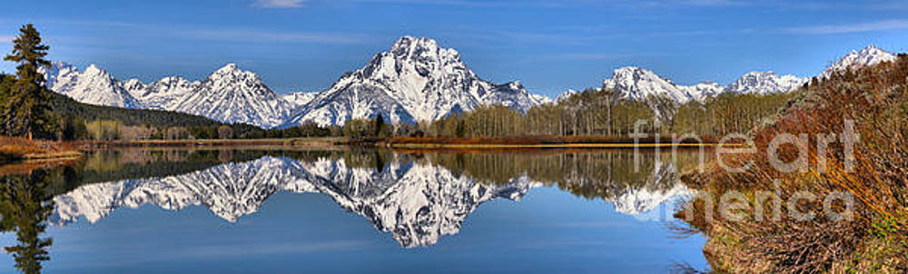 Adam Jewell - Oxbow Snake River Reflections