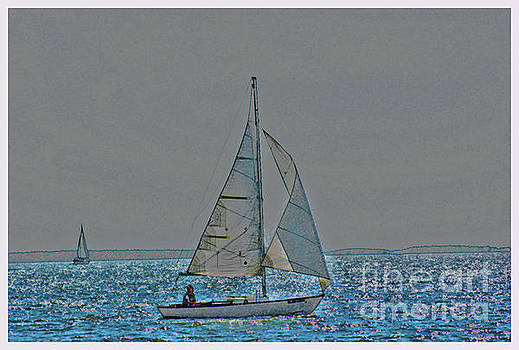 Oxford sailing  by Ronald Williamson