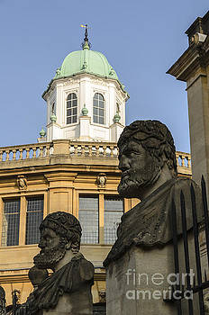 Oxford Sheldonian Theatre by Michael  Winters