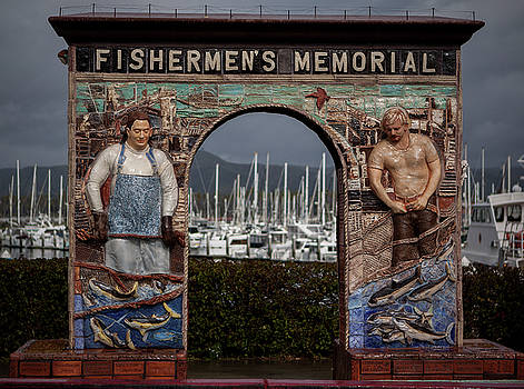 Oxnard Fisherman's Memorial by Mythic Ink