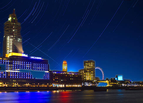David French - Oxo Tower Star trails