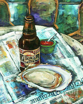 Oyster and Amber by Dianne Parks