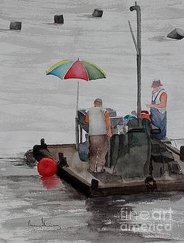 Oystering on Tomales Bay by Penny Stroening