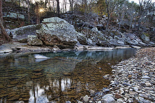 Ozark Stream by Joe Sparks