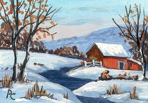Ozark winter by Peggy Conyers