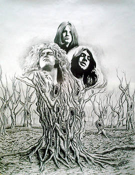 Ozzy-Gillan-Plant by Hector Monroy