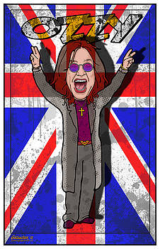 Ozzy Osbourne by John Goldacker