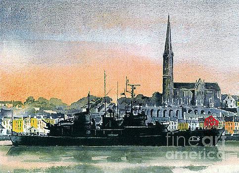 Val Byrne - F 808 Cobh Harbour, Cork