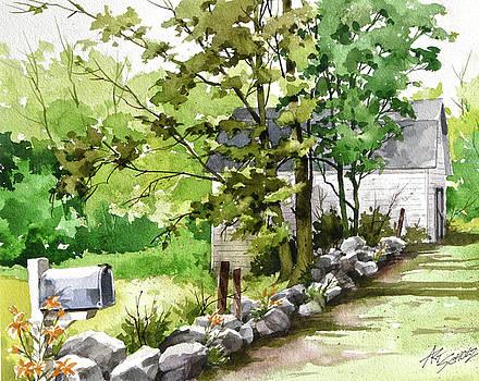 Mailbox 'n Barn by Art Scholz