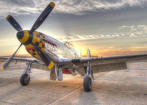 John King - P51 Mustang Kimberly Kaye at Hollister