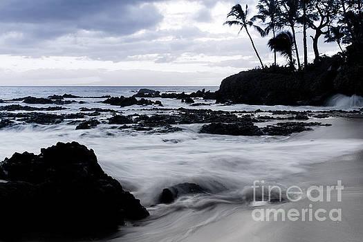 Paako Beach Sunset Blue Tones by Sharon Mau
