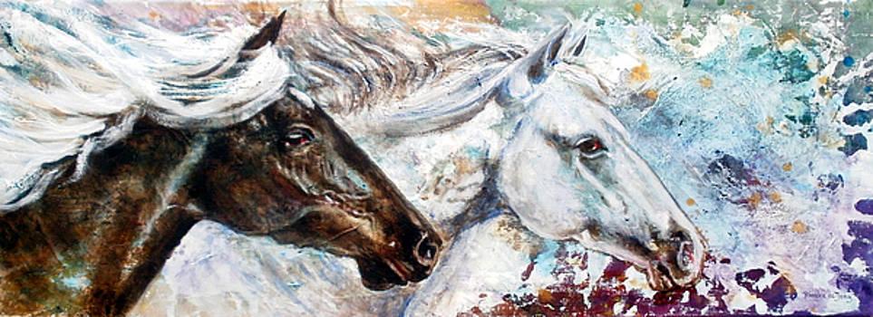 Paarden I by Rineke De Jong
