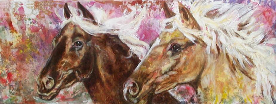 Paarden II by Rineke De Jong