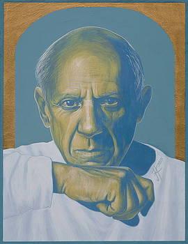 Pablo Picasso by Jovana Kolic