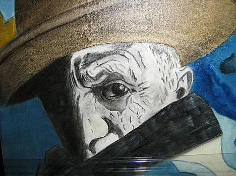 Pablo Picasso by Maria  Da Assuncao Lima