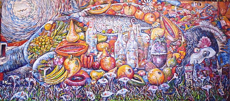 Pachamama Still Life by Amado Gonzalez