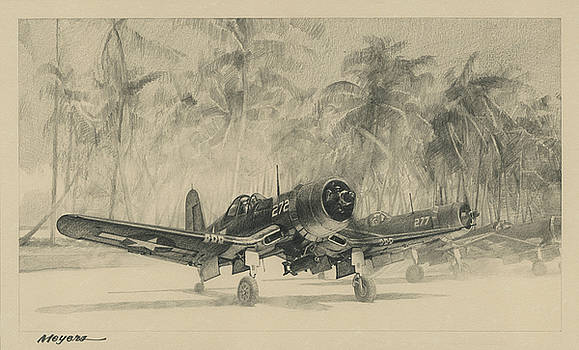 Pacific Corsairs by Wade Meyers