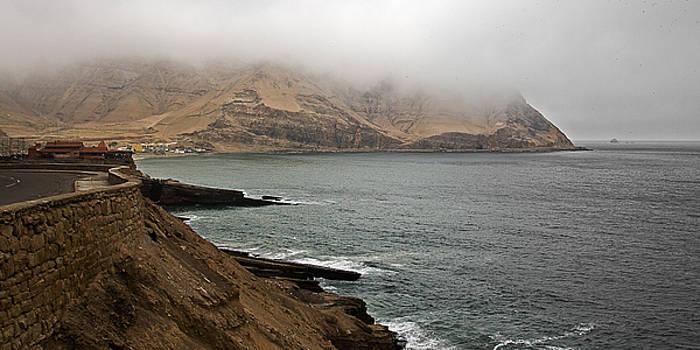 Pacific Fog by Ron Dubin