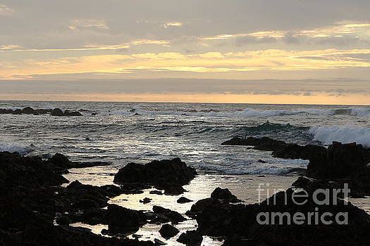 Pacific Grove sunset by P W