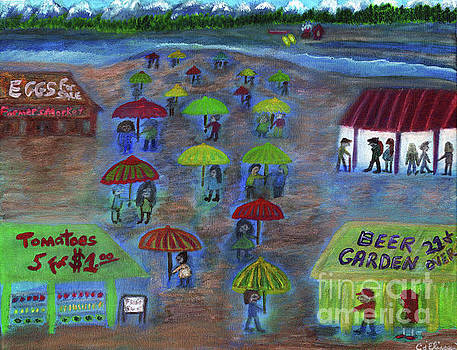 Pacific Northwest Farmer's Market by Carol Eliassen