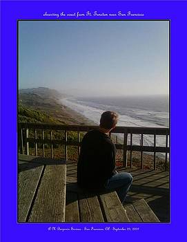 Pacific Ocean from Ft Funston by Anthony Benjamin