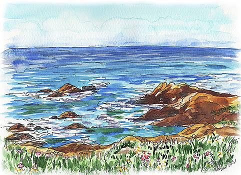 Irina Sztukowski - Pacific Ocean Shore Monterey
