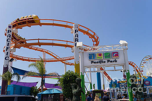 Wingsdomain Art and Photography - Pacific Park at Santa Monica Pier in Santa Monica California DSC3678