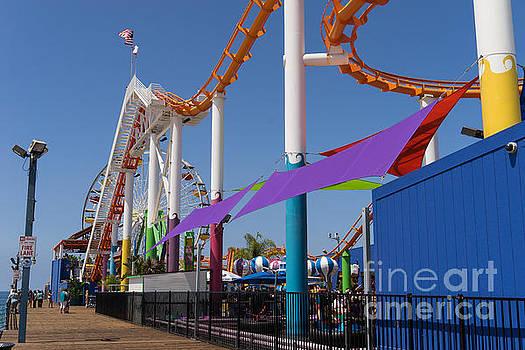 Wingsdomain Art and Photography - Pacific Park at Santa Monica Pier in Santa Monica California DSC3681