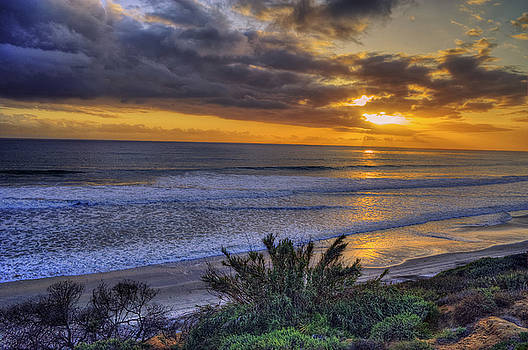 Pacific Sunset by Stephen Campbell