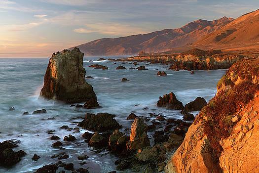 Pacific Valley Big Sur Coast by Dean Hueber