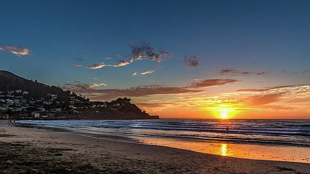 Pacifica Sunset by Bill Gallagher