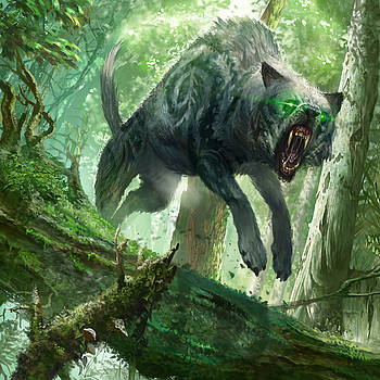 Pack Wolf by Ryan Barger