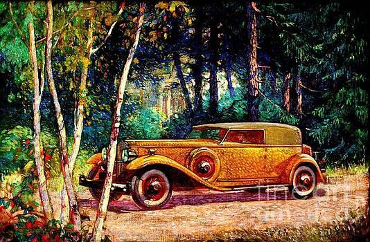 Peter Gumaer Ogden - Packard Motor Car 1920s