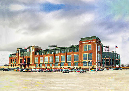 Packers Stadium by Kathy Weigman