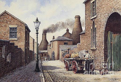Packhorse Lane Burslem by Anthony Forster