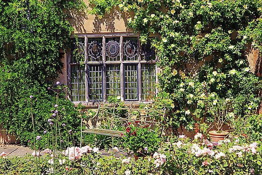 Packwood House Window by Tony Murtagh