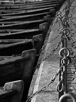 Robert Lacy - Padlocked Boats