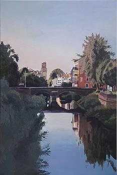 Padova in Sunset by Robert Keseru