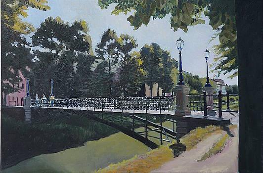 Padova Iron Bridge by Robert Keseru