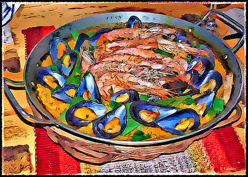 Dee Flouton - Paella-Mussel and Shrimp