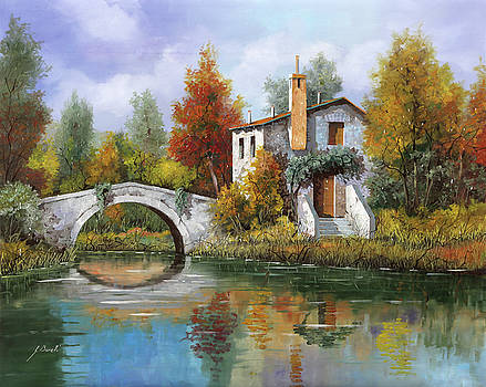 Paesaggio Pastellato by Guido Borelli