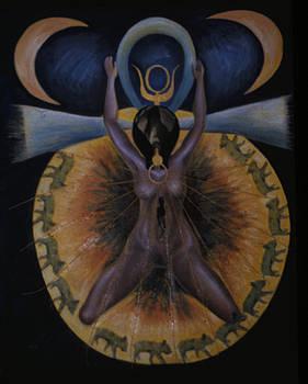 Pagan Mother Creation Myth by Barbara Nesin