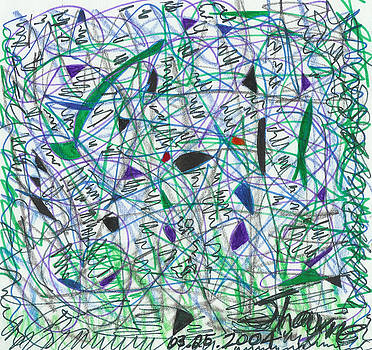 Pain and Confusion 1 by Susan Schanerman