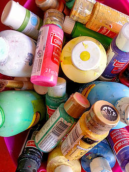 Paint Bottles by Lon Casler Bixby