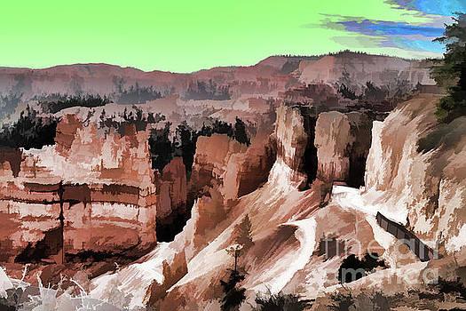 Chuck Kuhn - Paint Dynamic Bryce Canyon Utah